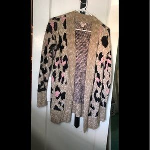 Cute leopard print cardigan ❤️